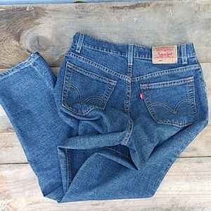 Levi's Jeans - New LEVI'S 550 Relaxed Stretch High Rise Jeans 8